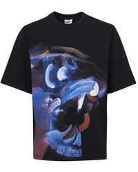KENZO T-shirt Tiger - Noir