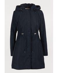 Moncler Anthemis Coat - Blue