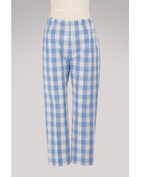 Sofie D'Hoore - Piano Cotton Trousers - Lyst