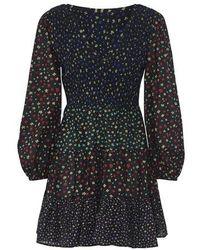 RIXO London Short Sasha Dress - Black