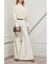 Alexander McQueen Sac porté épaule Jewelled satchel - Noir