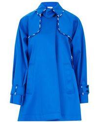 Sportmax Short Coat - Anniversary Collection - Blue