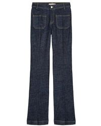 Vanessa Bruno Dompay Flare Jeans - Blue