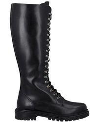Aquazzura Combat-boots - Black