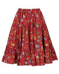 La DoubleJ Love Skirt - Red