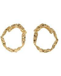 Chloé - Annouk Brass Earrings - Lyst