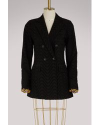 JOUR/NÉ - Broderie Anglaise Double Breasted Jacket - Lyst