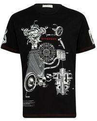 Givenchy T-shirt imprimé - Noir