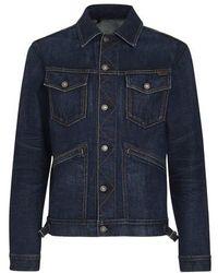 Tom Ford - Japanese Selvedge Denim Jacket - Lyst