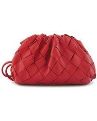 Bottega Veneta Geldbörse aus Leder - Rot