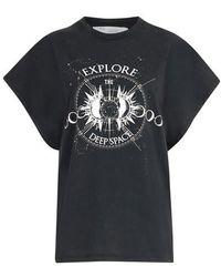 IRO T-shirt Explor - Noir