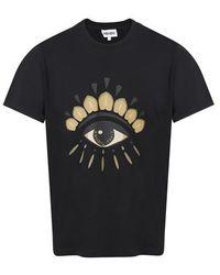 KENZO T-shirt Eye - Noir