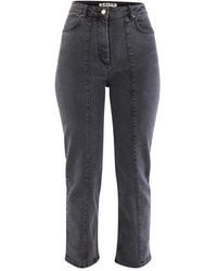 AALTO Cropped Jeans - Multicolor