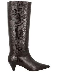 JOSEPH Panama Boots - Brown