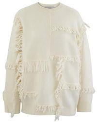 Stella McCartney Pull en laine - Blanc