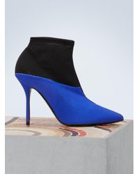 Pierre Hardy - Kelly Two-toned Ankle Boots - Lyst
