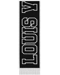 Louis Vuitton Louis City Schal - Schwarz