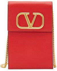 Valentino Garavani Rockstud Double Bracelet - Red