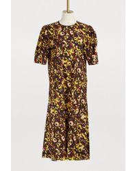 Marni - Short-sleeved Dress - Lyst