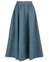 Bottega Veneta Long Skirt - Blue