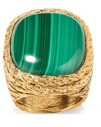 Aurelie Bidermann Miki Ring - Metallic