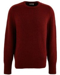 Éditions MR Round Neck Jumper - Red