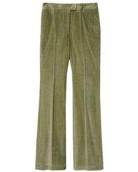 Momoní Limoges Pants In Corduroy - Green