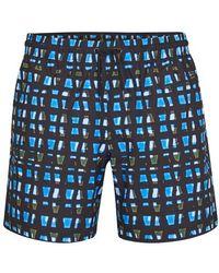Dries Van Noten Phibbs Swimwear - Blue