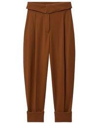 Proenza Schouler Wool Pants - Brown