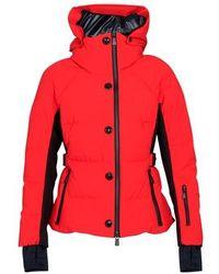3 MONCLER GRENOBLE Guyane Down Jacket - Red