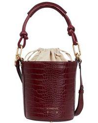Vanessa Bruno Mini Holly Bucket Bag - Multicolour