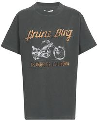 Anine Bing Lili T-shirt - Gray