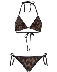 Fendi Lycra® Bikini - Black
