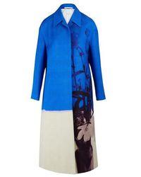 Dries Van Noten Tiger Printed Shirt - Blue
