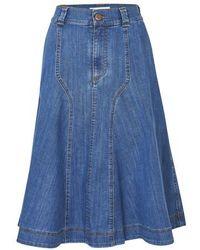 See By Chloé Short Skirt - Blue