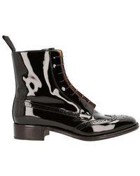 Church's Elsa Laced Boots - Black