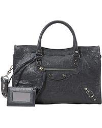 Balenciaga Classic City S Shoulder Bag - Black