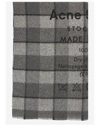 Acne Studios Cassiar scarf - Grau
