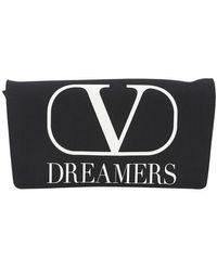 Valentino Garavani Vlogo Dreamers Nylon Belt Bag - Black
