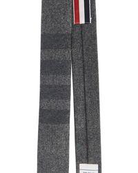 Thom Browne Klassische Krawatte 4-Bar - Grau