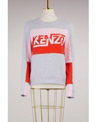 KENZO   Cotton Sweatshirt   Lyst