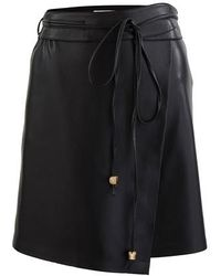 Nanushka Asymmetric Skirt - Black