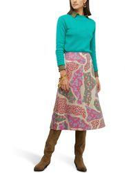 Marni Midi Skirt - Multicolour