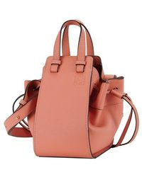 Loewe Mini Hammock Bag - Pink