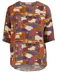 Roseanna Martial Top - Multicolour