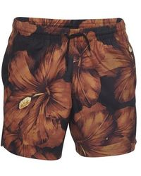 Dries Van Noten Phibbs Hibiscus Swimming Trunks - Multicolour