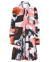 Alexander McQueen Silk Dress - Multicolor