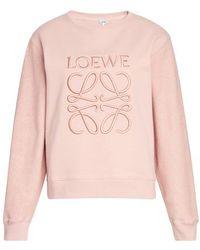 Loewe Anagram Sweat - Pink
