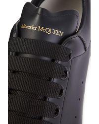 Alexander McQueen Oversized sneakers - Schwarz
