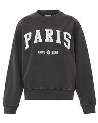 Anine Bing Sweatshirt Ramona University Paris - Mehrfarbig